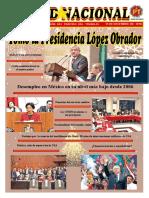 Unidad Nacional 15 de Diciembre de 2018