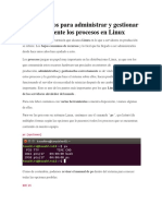 20 Comandos Administrar Linux