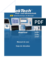 Caja Decimal Peaktech