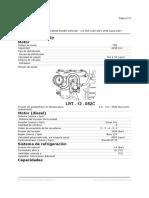 Datos de Ajuste Motor Td5 Land Rover