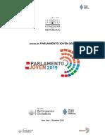 Bases Parlamento Joven 2019