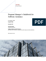 Program Manager's Guidebook for Software Assurance