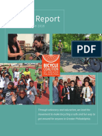 Bicycle Coalition of Greater Philadelphia Annual Report FY18