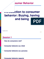 Day 1 Chapter 1 Consumer Behavior