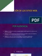 Clasificación de Los Sitios Web
