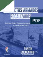 Informe de INDEPAZ sobre conflictos armados focalizados