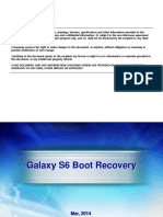 Galaxy S6 Boot Recovery