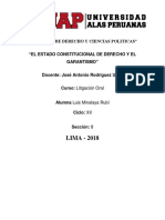 El Estado Constitucional de Derecho y El Garantismo (1) (1)