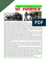 Violence in Schools