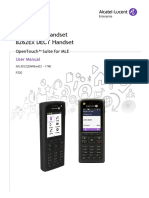 8262_8262ex DECT Handset User Manual