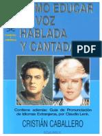 Como educar la voz Hablada y Cantada.pdf