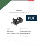 Informe Mantenmiento Programacion de Mantenimiento OMR 160 VF