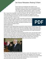 Pelajaran Penting Dari Kasus Reksadana 'Bodong' Di Bank Century