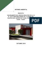 Informe Mensual Ambiental Octubre 2018