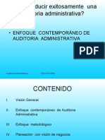 Auditoria Administrativa - Curso
