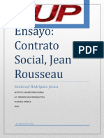 Ensayo Rousseau