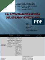 La Actividad Financiera Presupuesto Erika D