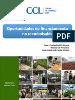 1 Oportunidades de Financiamiento FNR 13.09.2018