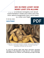 Laura Feigel -- How Free is Free Love- How Polyamory Lost Its Allure