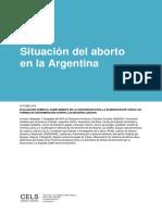 Situación Del Aborto en La Argentina.informe CEDAW