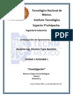 U1_A1_Investigación de Operciónes II