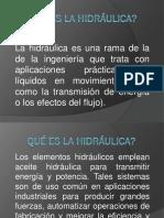 Qué Es La Hidráulica 2010-II