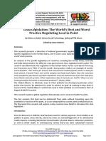 Bodel LEADing Legislation on Lead in Paint 20100617