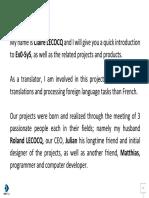 En - Ex0-SyS - Current Projects & Products - Kick Starter Video Presentation Script - Vid-Sub