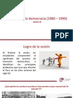 Sesion 10 El retorno a la democracia.pptx