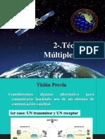 Tecnicas Multiplexacio Al Satelite 2018