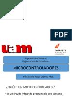 Microcontroladores. Prof Danilo Rojas Chanto,Apoyo Examen Final