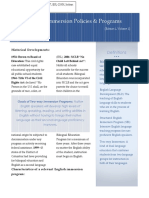 newsletter  executive design 2 pages