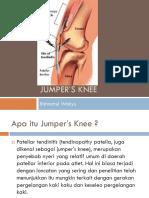 Jumper's Knee (Rahmatul Wahyu)
