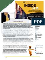 Fall 2018 TAM Newsletter