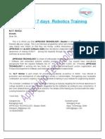 7 Days Nit Robotics