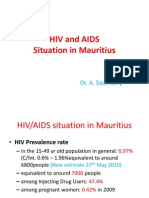HIV and AIDS Situations in Mauritius (1)