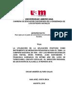 Tesis (Luis Paulino Mora