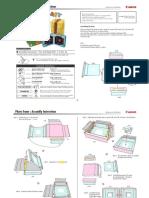molde de caixa para imprimir - parte 2