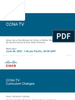 CCNA Changes