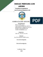 compactacio estatica