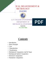 Measurement and metrology ppt.pdf