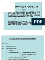 Career Options in Psychiatry-2