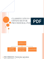 Classification of Offences in Crpc