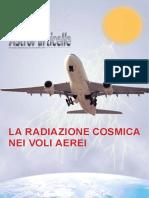Radiazione Cosmica in Aereo