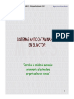 Sistemas Anticontaminantes en El Motor