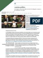 Túnez Muestra Otro Camino Político