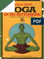 Yoga in Sei Settimane, Indra Devi