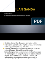 Dr. Soffin Sp.og - Kehamilan Ganda