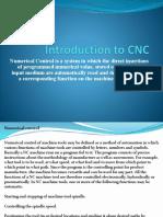 Introductio to CNC Numerical Control