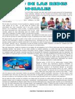 Articulo El Uso de Las Redes Sociales en Los Jovenes